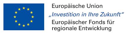 Logo Europäische fonds für regionale Entwicklung
