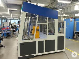 Automatische Beladung mit Roboter